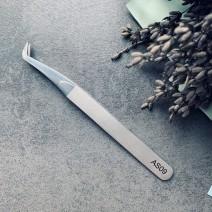 Пинцет для объемного наращивания ресниц ручной заточки