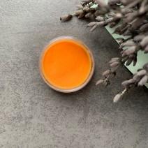 Акриловая пудра в баночке № 13 (оранжевая), 1 г