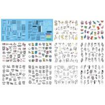 Слайдер-дизайн большой лист (BN 1237-1248)