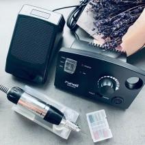 Фреза PM-35000 для наращивания ногтей 35 W для аппаратного маникюра и педикюра, RuNail