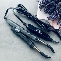 Щипцы Loof для наращивания волос с терморегулятором