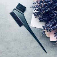 Кисть и расческа для окрашивания волос (2 в 1)