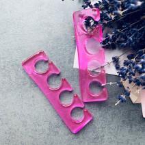 Разделители для пальцев силиконовые, 1 пара