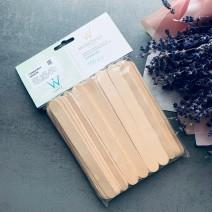 Шпатели деревянные для депиляции тела 100 шт (140 мм), ItalWax