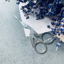 Ножницы  маникюрные для шелка, RuNail