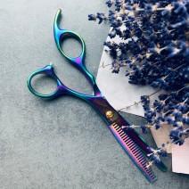 Ножницы для парикмахера профессиональные филировочные
