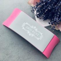 Подставка для рук пластиковая розовая