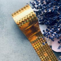 Фольга для литья 1,5 метра №3, золотая