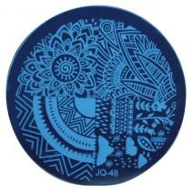 Круглый диск для стемпинга JQ-48