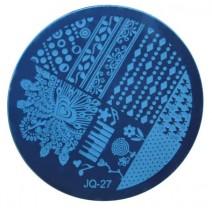 Круглый диск для стемпинга JQ-27