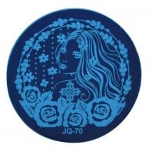 Круглый диск для стемпинга JQ-70