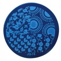 Круглый диск для стемпинга JQ-74