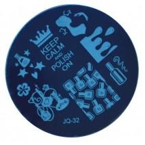 Круглый диск для стемпинга JQ-32