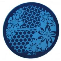 Круглый диск для стемпинга JQ-71