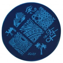 Круглый диск для стемпинга JQ-07