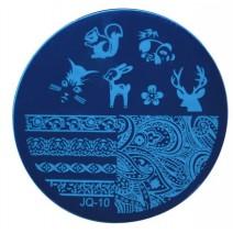 Круглый диск для стемпинга JQ-10